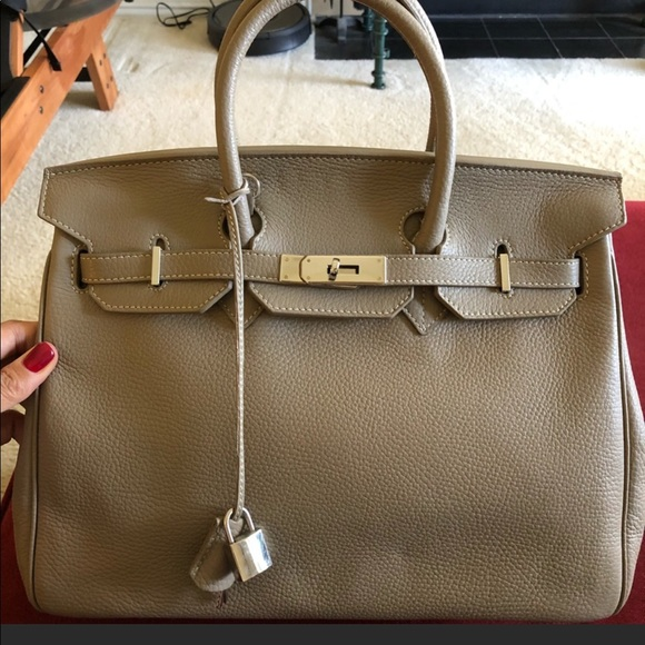 """a75ed57ef6e6 Teddy Blake Birkin style Caty 14"""" bag. M 5c73598f9fe4867b573a755d"""